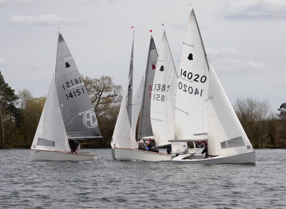 Gp14 Class At Papercourt Papercourt Sailing Club