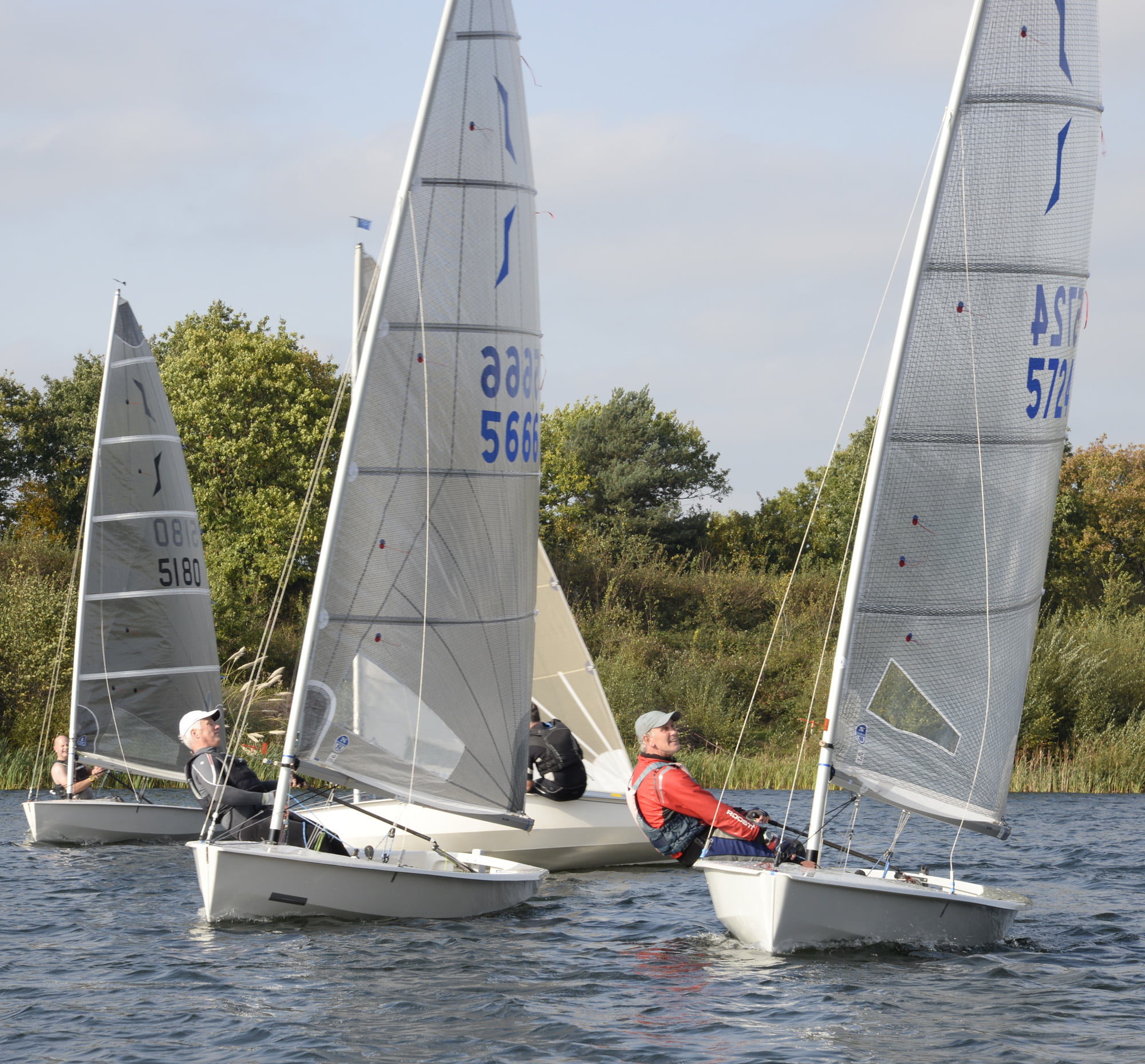 Solo Class At Papercourt Papercourt Sailing Club